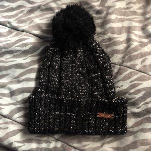Kensie | Sparkle Pom Pom Hat